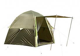 """Палатка летняя """"ЛОТОС 3 Саммер"""" с полом и москитной сеткой (модель 2019)"""