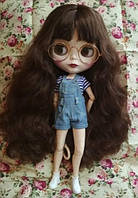 Шарнирная кукла Айси с длинными волосами и стеклянными 3D глазами + 10 пар кистей + одежда и обувь в подарок