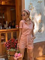 Комбинезон с шортами женский летний 42-46 размеров, 2 цвета