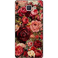 Силиконовый чехол для Samsung J5 Prime Galaxy G570 с рисунком Красные розы