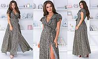 Платье в пол  в расцветках 36553, фото 1