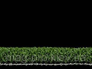 Искусственная трава для тенниса мультиспорт незасыпная Green E (12мм.), фото 2