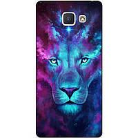 Силиконовый чехол для Samsung J5 Prime Galaxy G570 с рисунком Космический лев