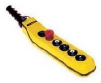 Кнопочный пост на 6ть кнопок вверх-вниз-влво-вправо стоп-пуск (двухскоростное)Ravioli