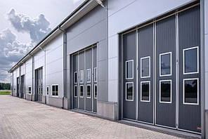 Складані промислові ворота Ecolid 4000x4500 /Швеція/