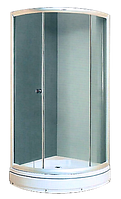 Душевая кабина Miracle 920x920  сатин/фабрик XL01-1 Новая цена!!!