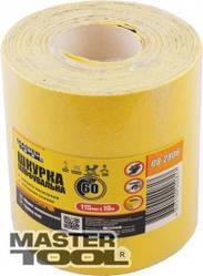 MasterTool  Шкурка шлифовальная на бумажной основе Р120 115 мм*10 м, Арт.: 08-2912