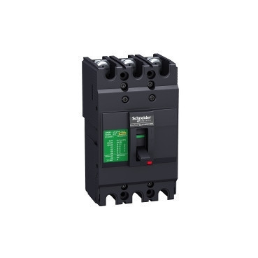Автоматичний вимикач EASYPACT EZC250N 3P3T 25кА 200А EZC250N3200