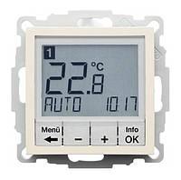 Регулятор температуры с часовым механизмом 250В Berker S.1 Белый (20448982)