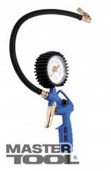 MasterTool  Пневмопистолет для подкачки колес с манометром 0-12 бар, Арт.: 81-8750