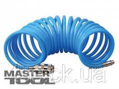 MasterTool  Шланг спиральный 5,5*8 мм 15 м, полиуретановый, Арт.: 81-8492