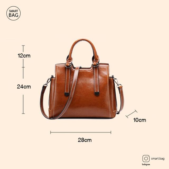 Женская кожаная сумка на одно плечо