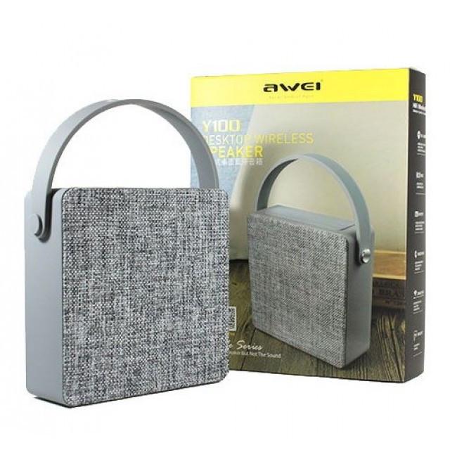 Портативная колонка Bluetooth Awei Y100 Original 150x150x50mm