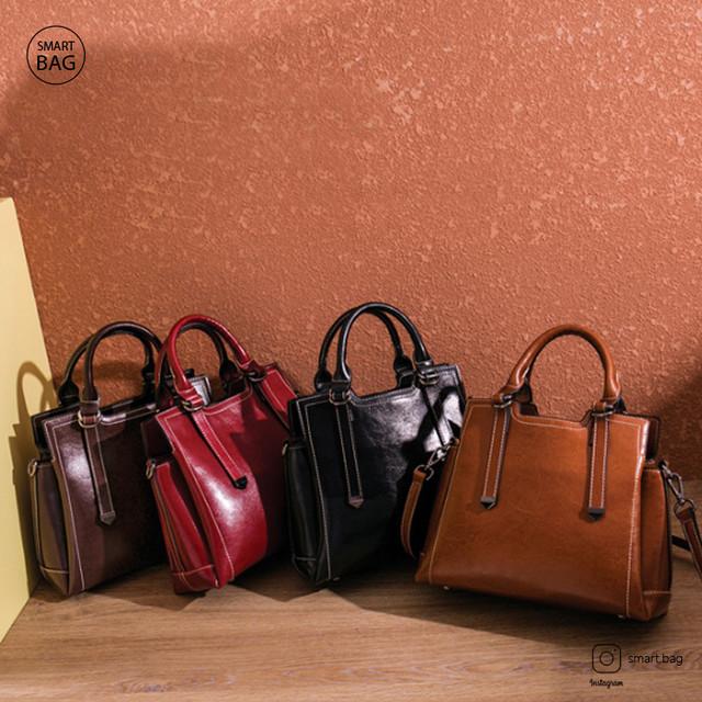Женская кожаная сумка на одно плечо в ассортименте