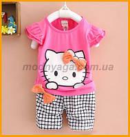 """Детский костюм для девочек """" Hello Kitty"""", отличного качества"""