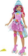 """Кукла Barbie Video Game Барби """"Героиня Видеоигр"""" Игровая принцесса на светящихся роликах (DTW00)"""
