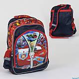 Рюкзак школьный С 36262 (50) 2 отделения, 3 кармана, 3D принт  Размер упаковки:30 х 5 х 40 см Упаковка:Пакет, фото 2