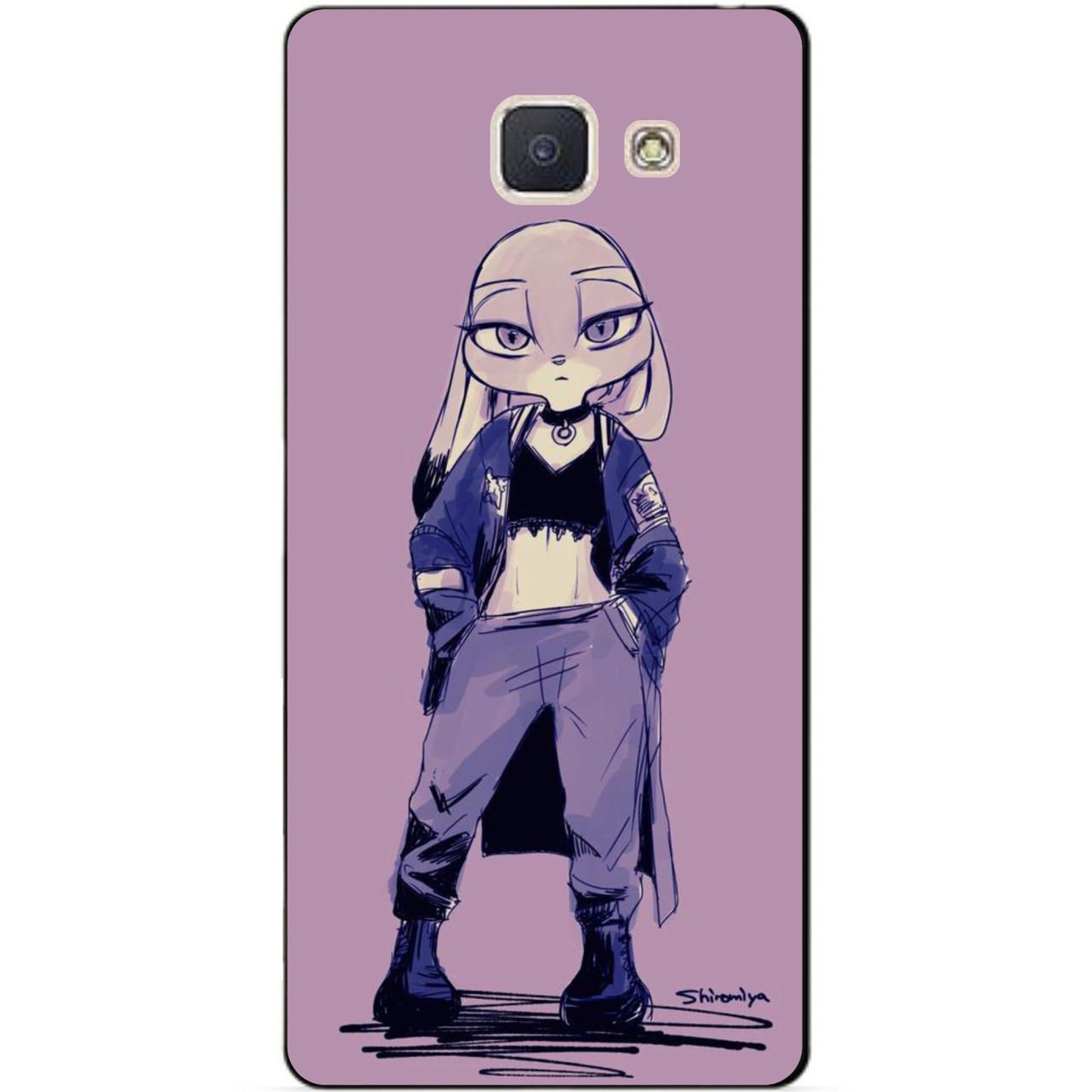 Силиконовая накладка для Samsung J5 Prime Galaxy G570 с картинкой Джокер