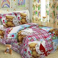 Комплект постельного белья полуторный ТМ Таg Детство