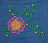 "НВ-04/2 Dimoda Блузка-рубашка ""цветок""  44   размер, фото 3"