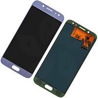 Дисплей для Samsung J530F Galaxy J5 (2017) с тачскрином голубой, Оригинал Amoled