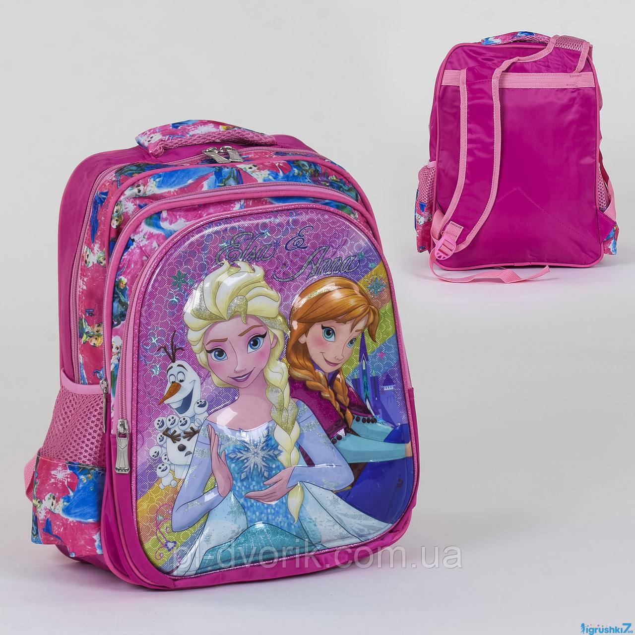 Рюкзак шкільний З 36260 (50) 2 відділення, 3 кишені, 3D принт Розмір упаковки: 30 х 5 х 40 см Упаковка: Пакет