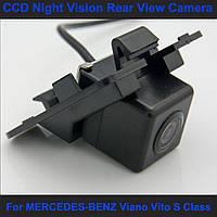 Камера заднего вида универсальная мерседес бенз с класс Mercedes-Benz S Class цветная матрица CCD, фото 1