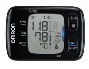 Автоматический тонометр на запястье OMRON RS8