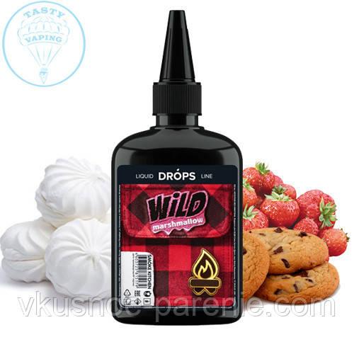 "Жидкость Smoke Kitchen DROPS ""Wild Marshmallow"" (Земляничный зефир) 100 мл 3 мг"