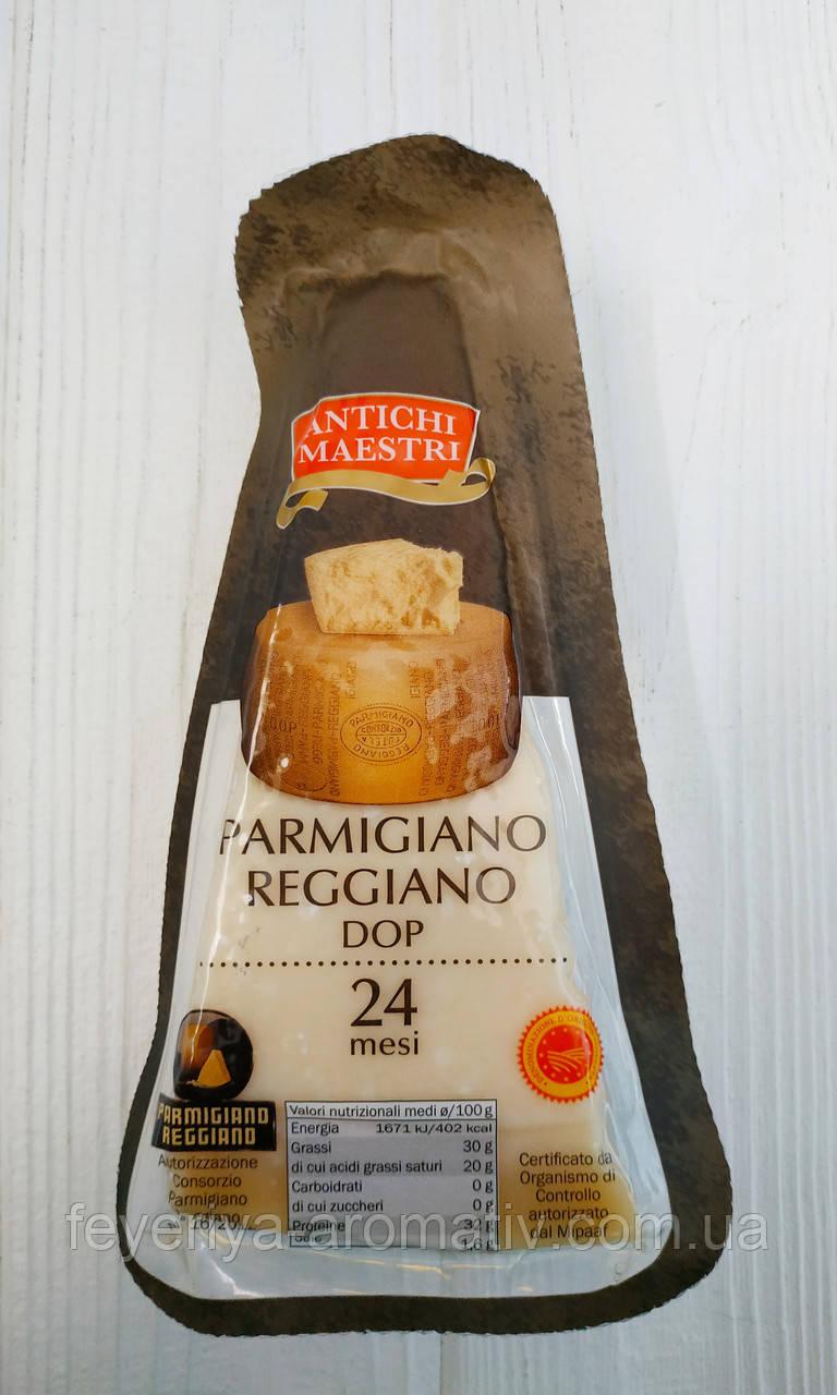 Сыр пармезан Parmigiano Reggiano Dop 24mesi, 230гр +/- 15гр  (Италия)