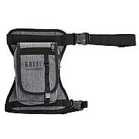 Набедренная сумка GT серый