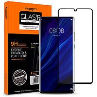 Защитное стекло Spigen для Huawei P30 Pro GLAS.tR Full Cover, Black (L37GL25745)