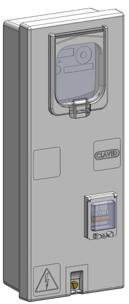 Шафа для трифазних лічильників VERTIBOX