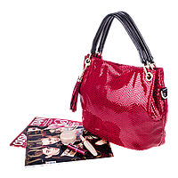 Женская сумка Realer P008 красная, фото 1