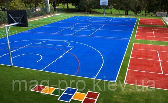 Искусственная трава для хоккея и тенниса Yell 15-15мм. (цветная)