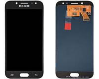 Дисплей для Samsung J530F Galaxy J5 (2017) с тачскрином черный, Оригинал Oled