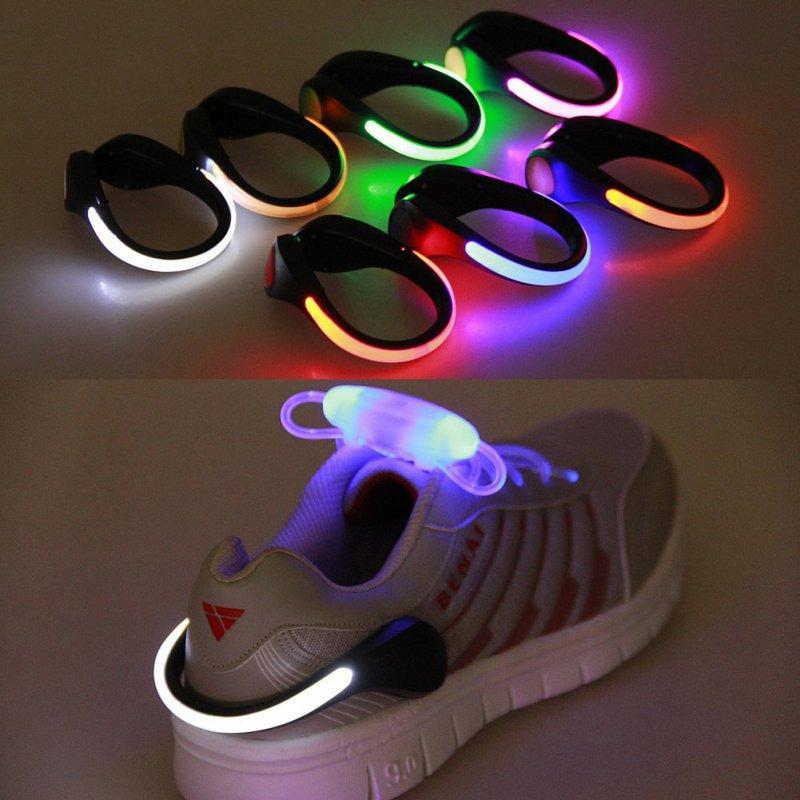 Светодиодный зажим для обуви