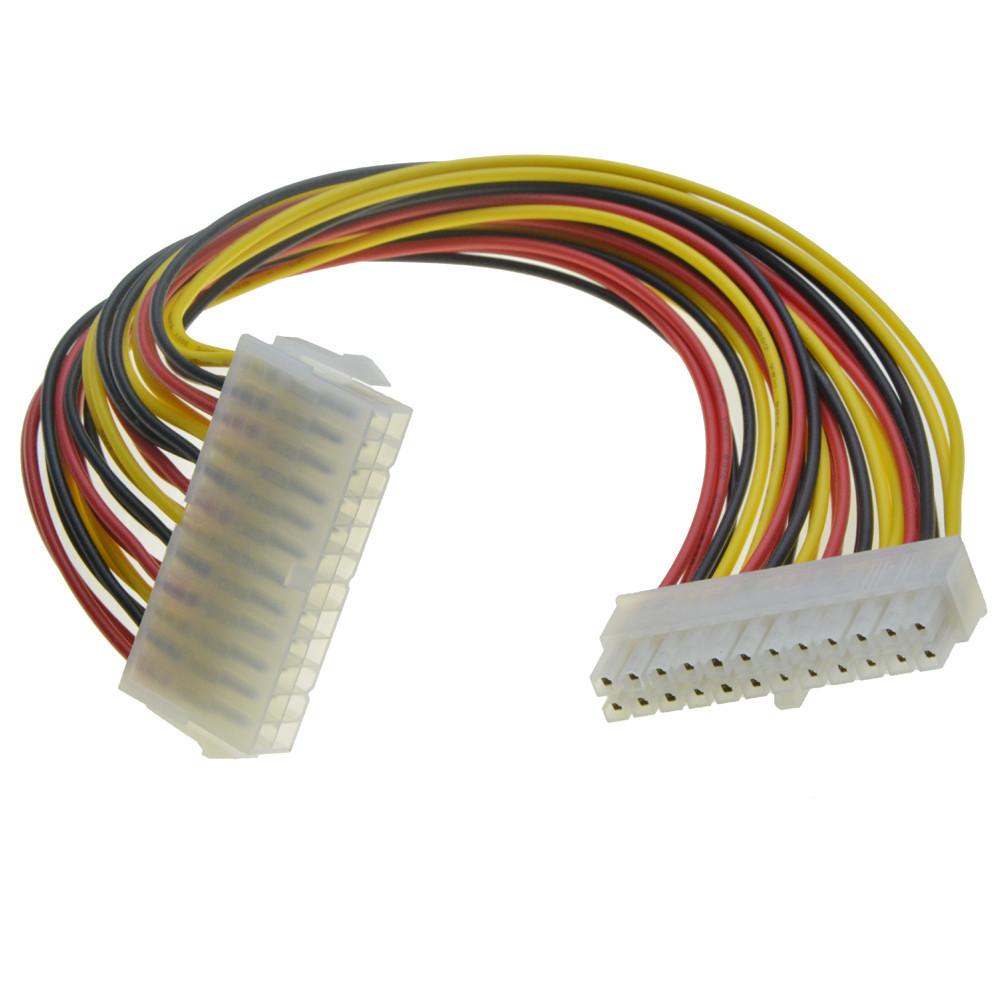 Кабель 20 pin to 20 pin ATX удлинитель питания распиновка #100450-1