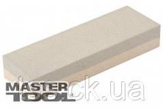 MasterTool  Брусок абразивный двусторонний 200*50*25 мм, зерно 120/240, Арт.: 08-2003