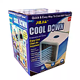 Портативный кондиционер 4 в 1 Jiejia Cool Down с подсветкой 10W Работает От USB, фото 4