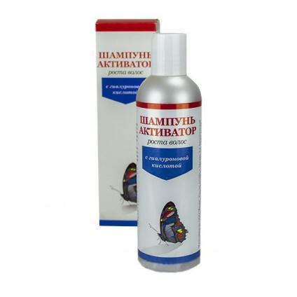 Активатор роста волос с гиалуроновой кислотой шампунь 250 мл
