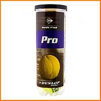 Мячи для большого тенниса Dunlop 3 шт