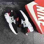 Мужские кроссовки Nike Presto React (черно-бело-красные) , фото 6