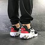 Мужские кроссовки Nike Presto React (черно-бело-красные) , фото 5