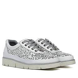 Туфли женские ALPINO (кожаные, стильные, на шнурках)