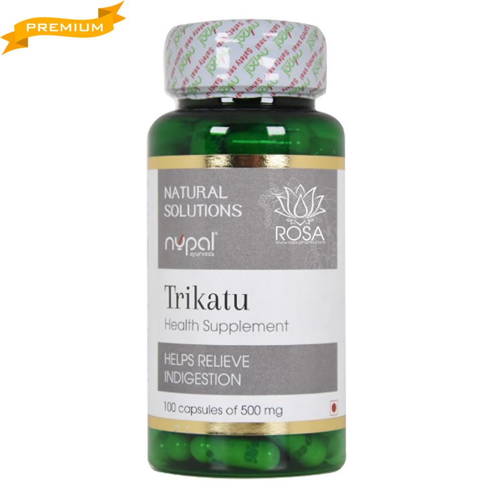 Трикату капсулы (Trikatu Capsules, Nupal Remedies), 100 капсул