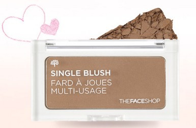 The Face Shop Single Blush Toast Brown