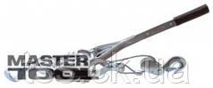 MasterTool  Лебедка рычажная 2т, 2 положения, трос 4,5 мм * 1,5 м, Арт.: 86-8021