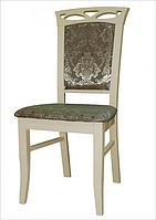 Стул деревянный  Вена  (белый, слоновая кость, ваниль), фото 1