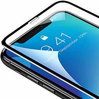 Защитное стекло для iPhone XS Max Baseus 0.3mm Rigid-edge curved-screen tempered glass screen protector Black